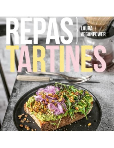 REPAS TARTINES DE LAURA VEGANPOWER